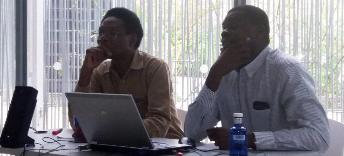 """Debate """"Congo, desarrollo y democracia"""", con los profesores Mbuji Kabunda y Hugue Toko Wangata"""