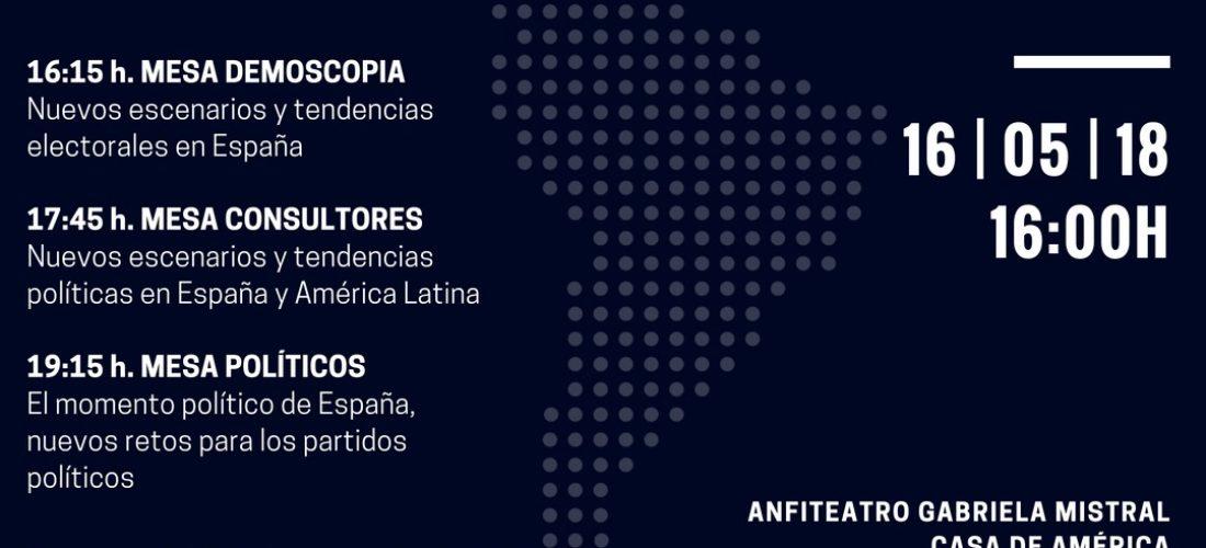 Jornada: Nuevas tendencias electorales en España y América Latina