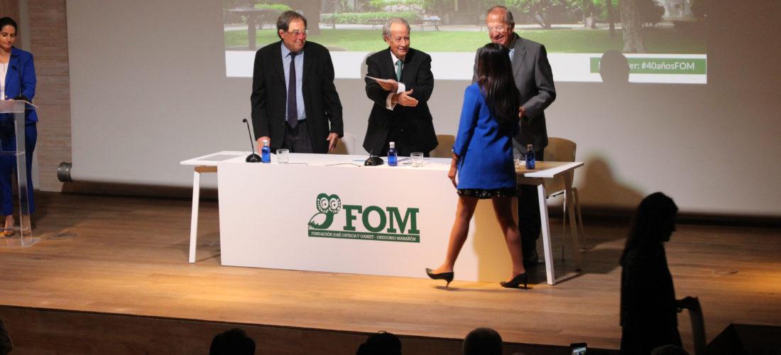 Apertura del Curso Académico 2018-2019 de la Fundación Ortega-Marañón