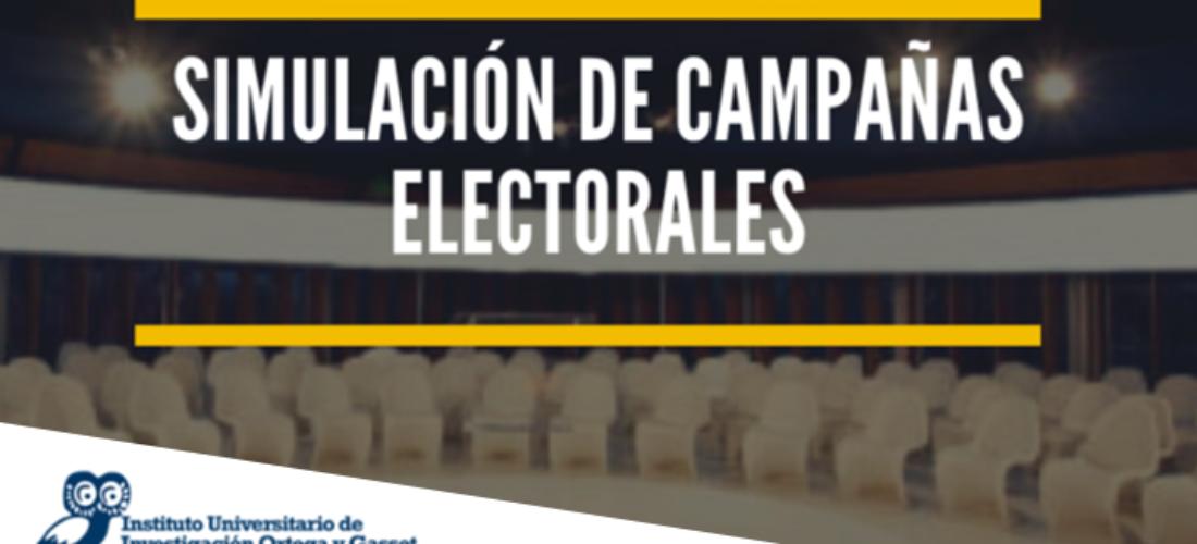 El IUIOG abre la convocatoria para los cursos de Simulación de Campañas Electorales y Gestión de Crisis Política y Comunicación