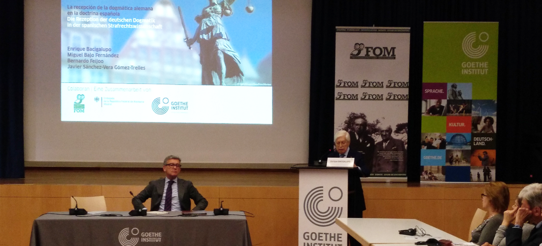 Alemania y España: 100 años de trabajo conjunto en Derecho Penal