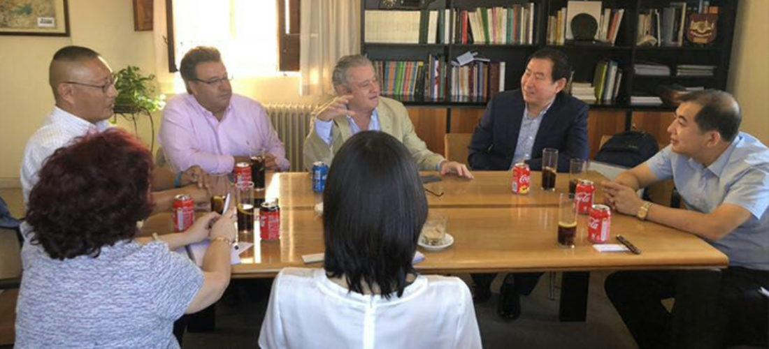 Acuerdo de colaboración entre la International Business and Economics University (UIBE) de Pekín y la Fundación Ortega-Marañón