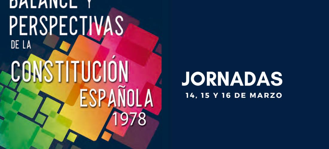"""El IUIOG colabora en las jornadas """"Balance y perspectivas de la Constitución española 1978"""""""