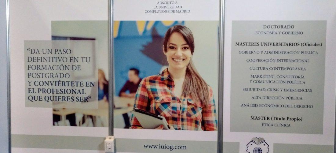 El IUIOG presentará sus programas de postgrado en la Feria Edúcate en Panamá