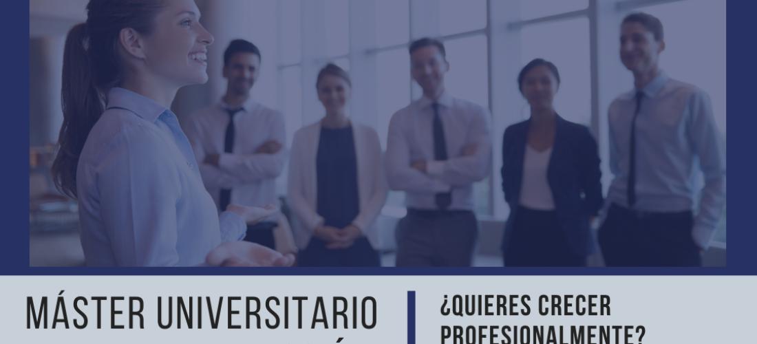 El Máster Universitario en Alta Dirección Pública es una formación orientada a crecer profesionalmente en el ámbito público