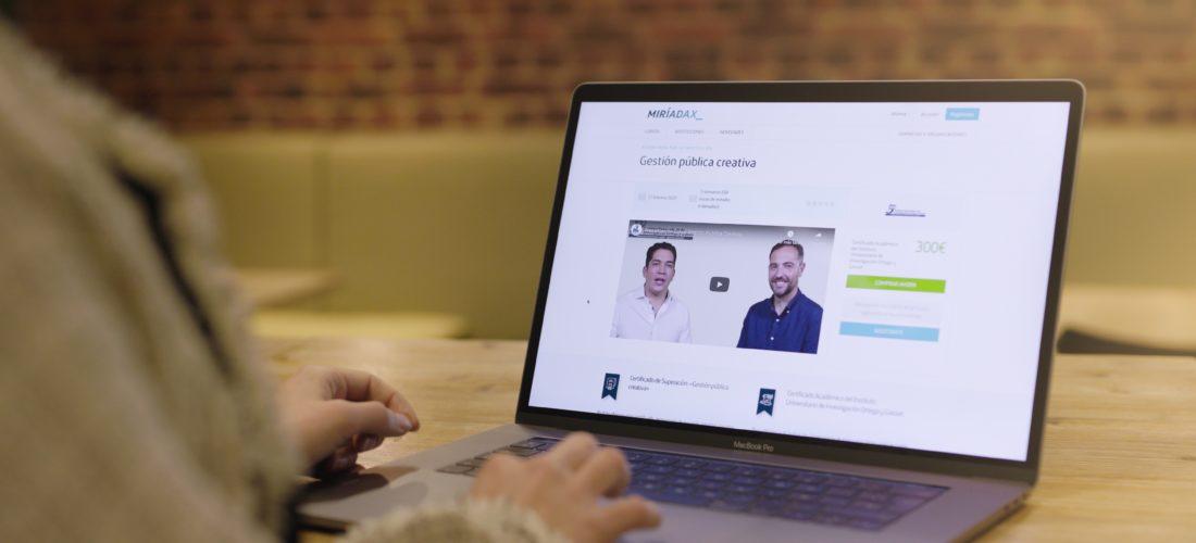 El Instituto Universitario de Investigación Ortega y Gasset se asocia a Miríadax y crean el primer itinerario online abierto de Gestión Pública