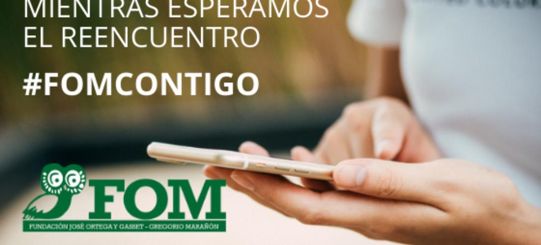 El Instituto Universitario de Investigación Ortega y Gasset ofrecerá contenidos online y en abierto para apoyar la campaña #QuédateEnCasa