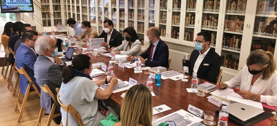 """Gobernadores colombianos participan en el I Programa Internacional sobre """"Estrategias nacionales y regionales de recuperación económico y social"""""""